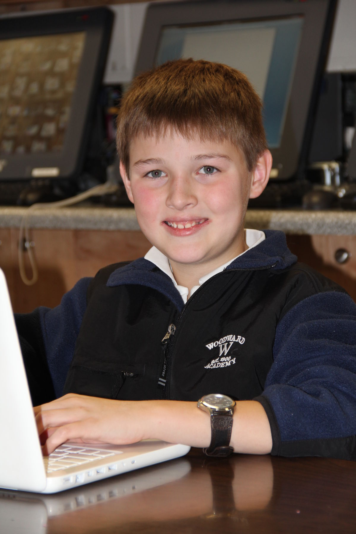 Student Starts Blog for Lower School