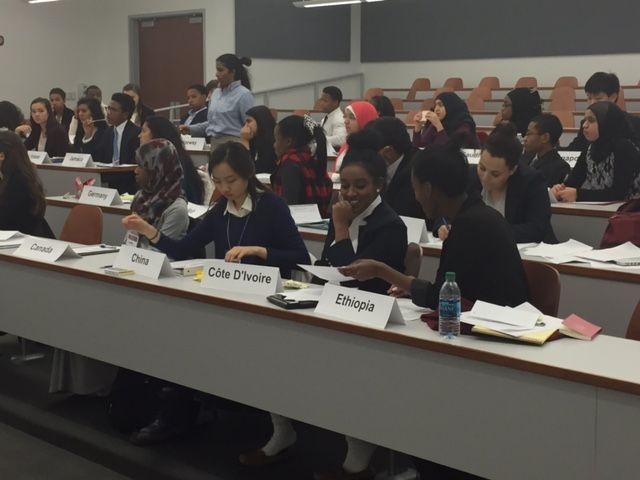 Woodward Hosts its First Model UN Conference