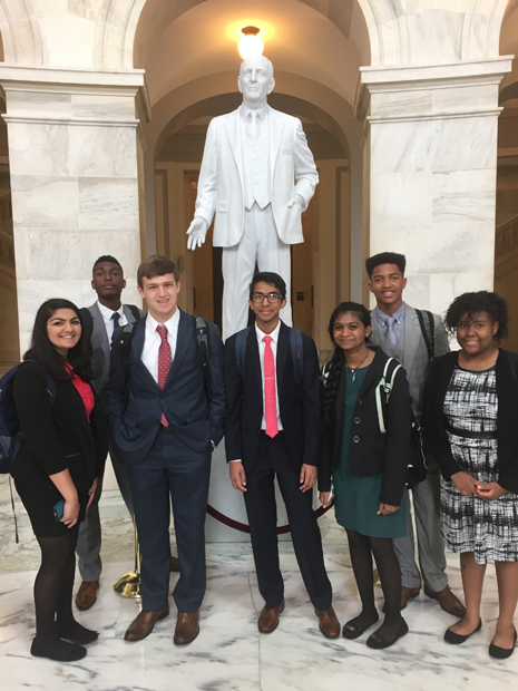 Woodward Debate Team Travels to Washington, D.C.