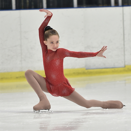 Fifth-Grader Wins 1st in Figure Skating Competition