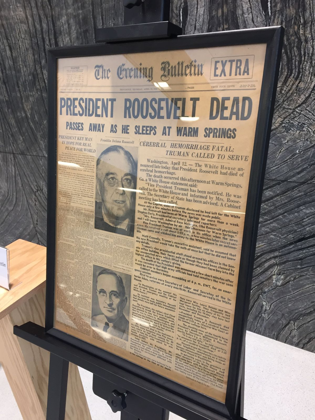Out of the Archive and on Display: Front Pages Across History
