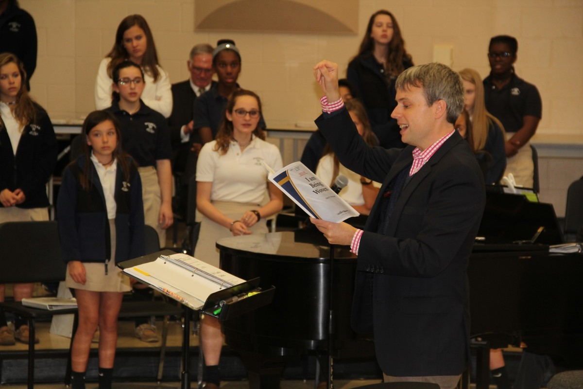 Skylark Vocal Ensemble Makes Music with Woodward Choirs