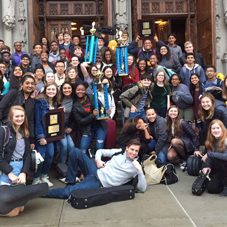 Upper School Orchestras Earns 1st in National Competition