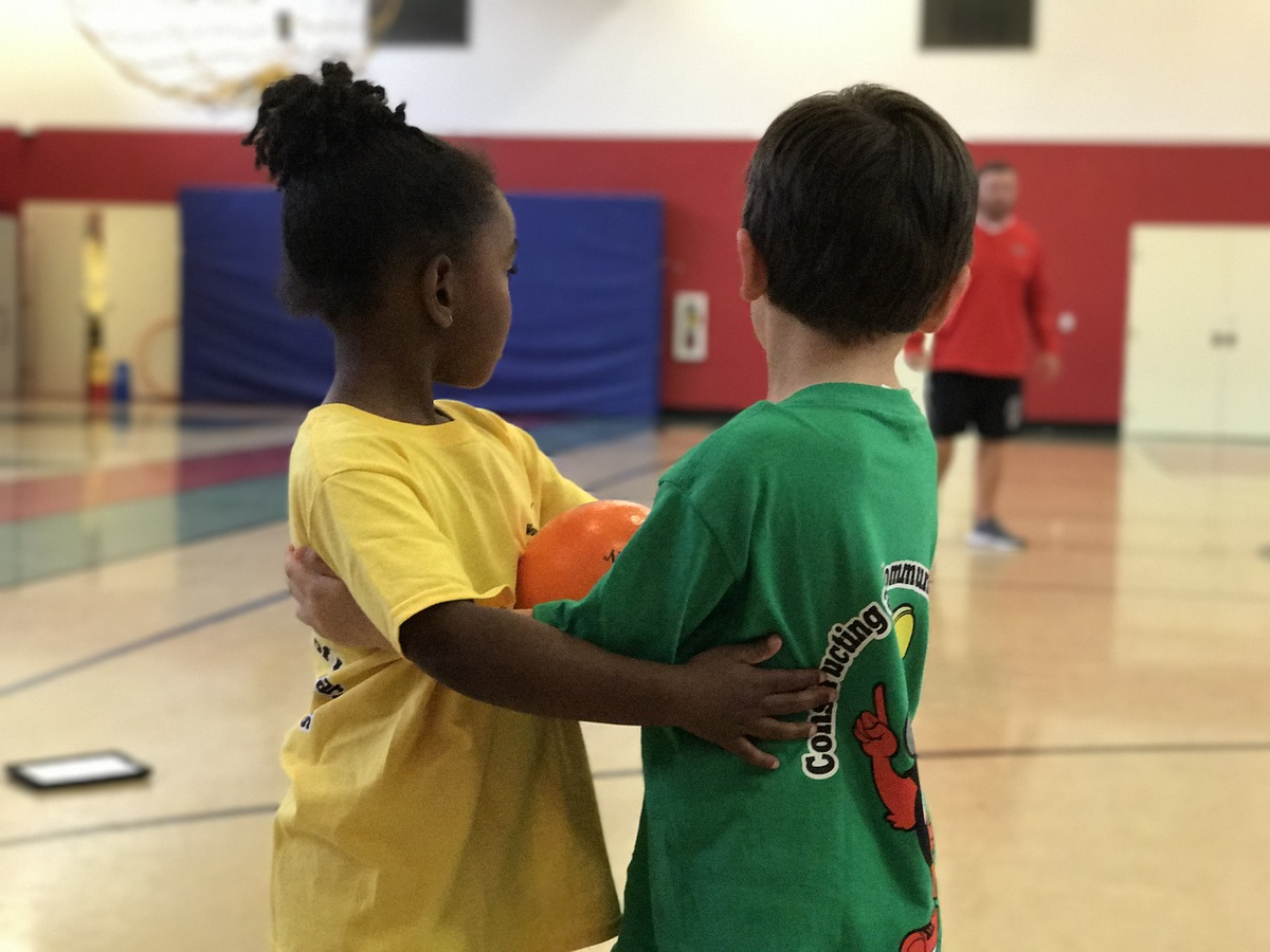 Indoor Fun at Pre-K Field Day