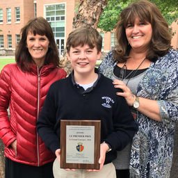 Ninth-Grader Earns 1st on National French Contest