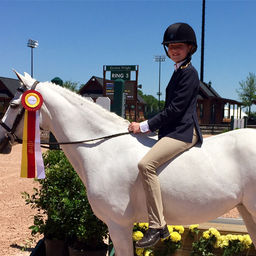 Sixth-Grader Wins 2nd in Equestrian Competition