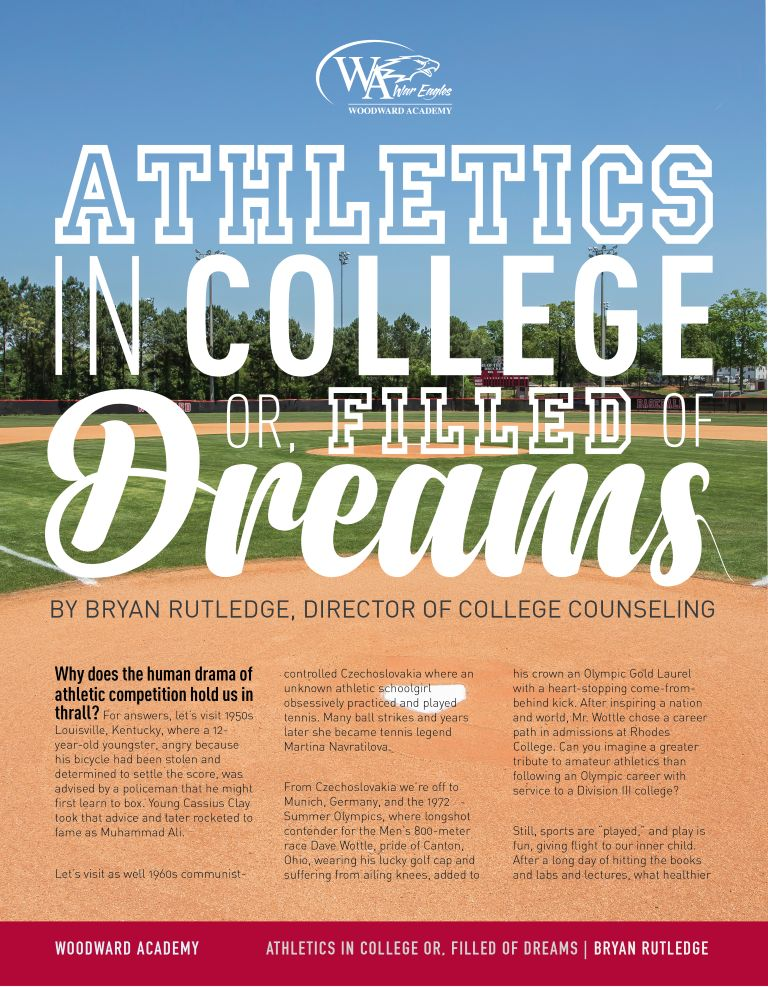 Filled of Dreams: Athletics in College
