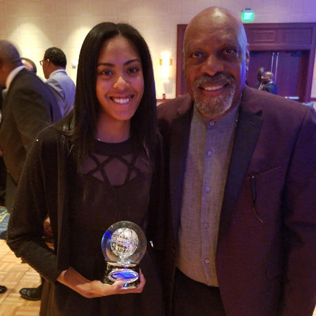 Junior Golfer Wins Calvin Peete Champion Award