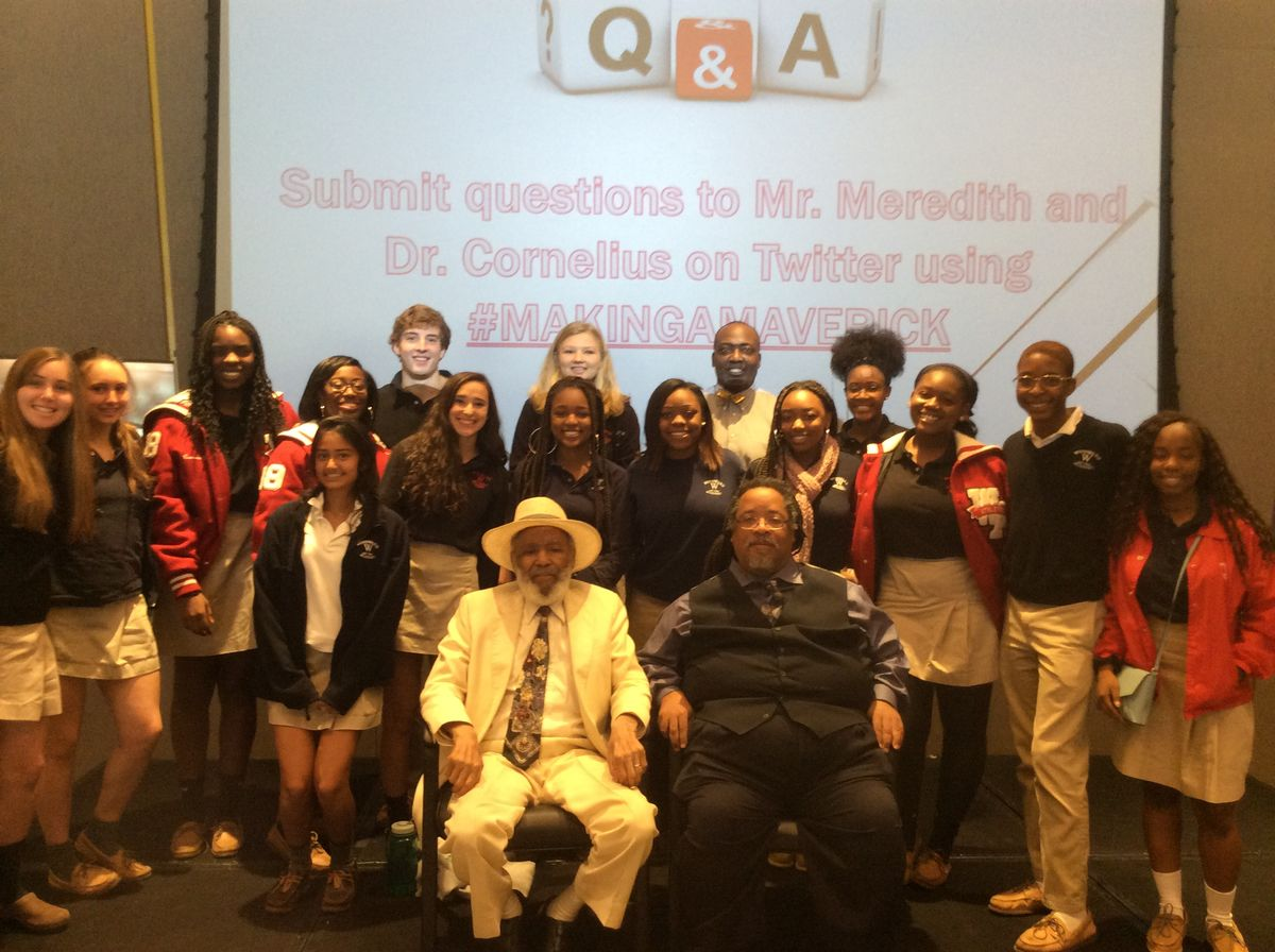 Reflections on Visiting with Civil Rights Legend, James Meredith