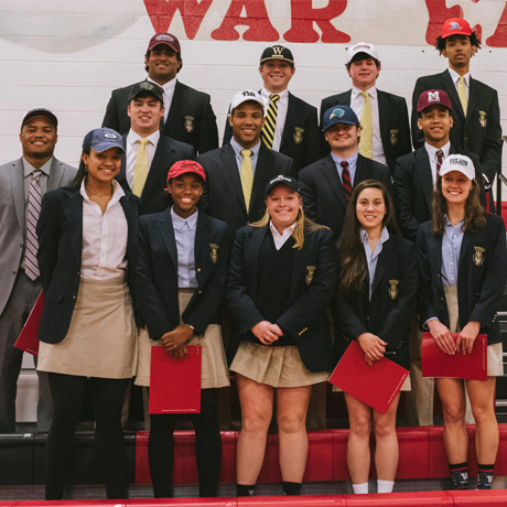 14 Student-Athletes Sign National Letters of Intent