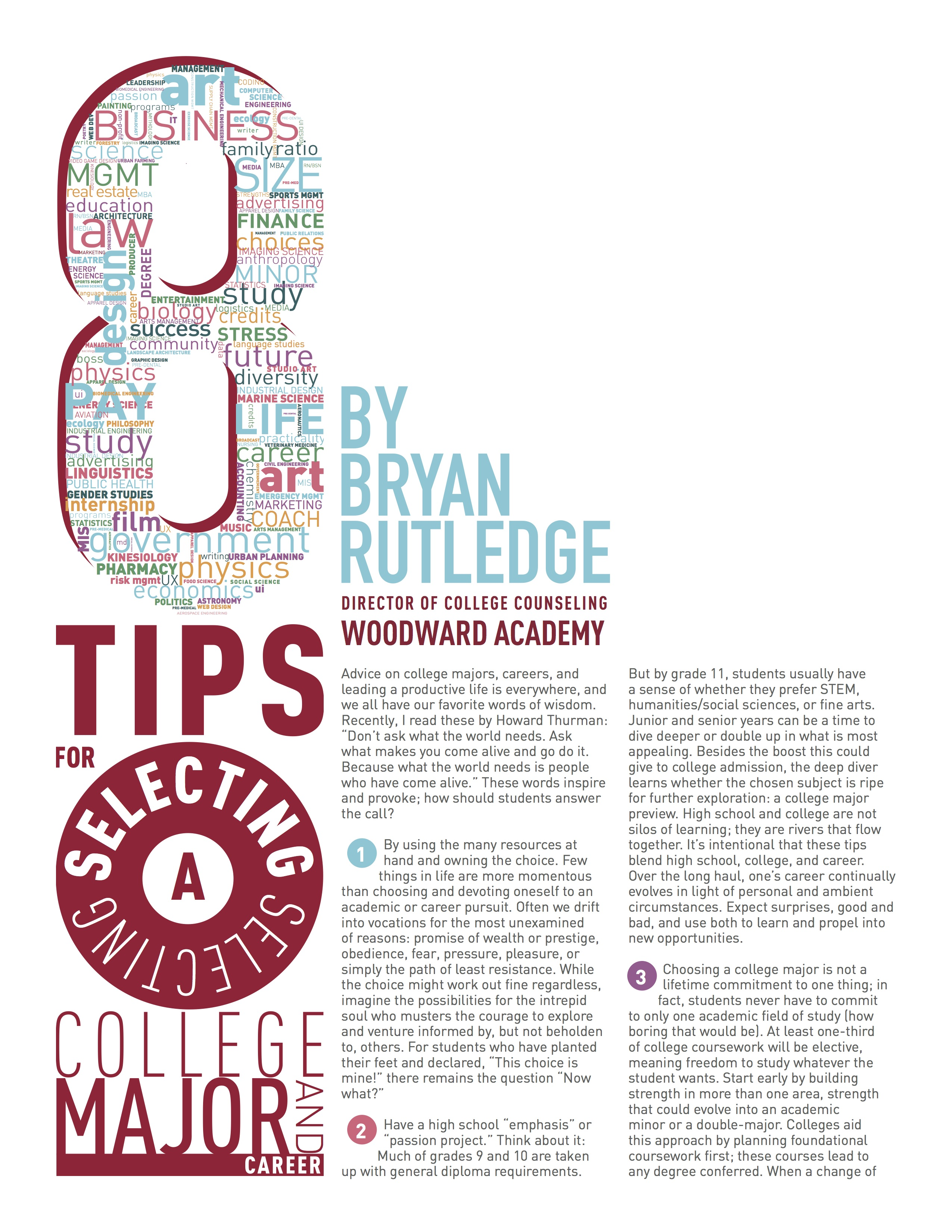 8 Tips for Selecting a College Major and Career