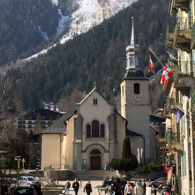 Student Trip to Chamonix, France