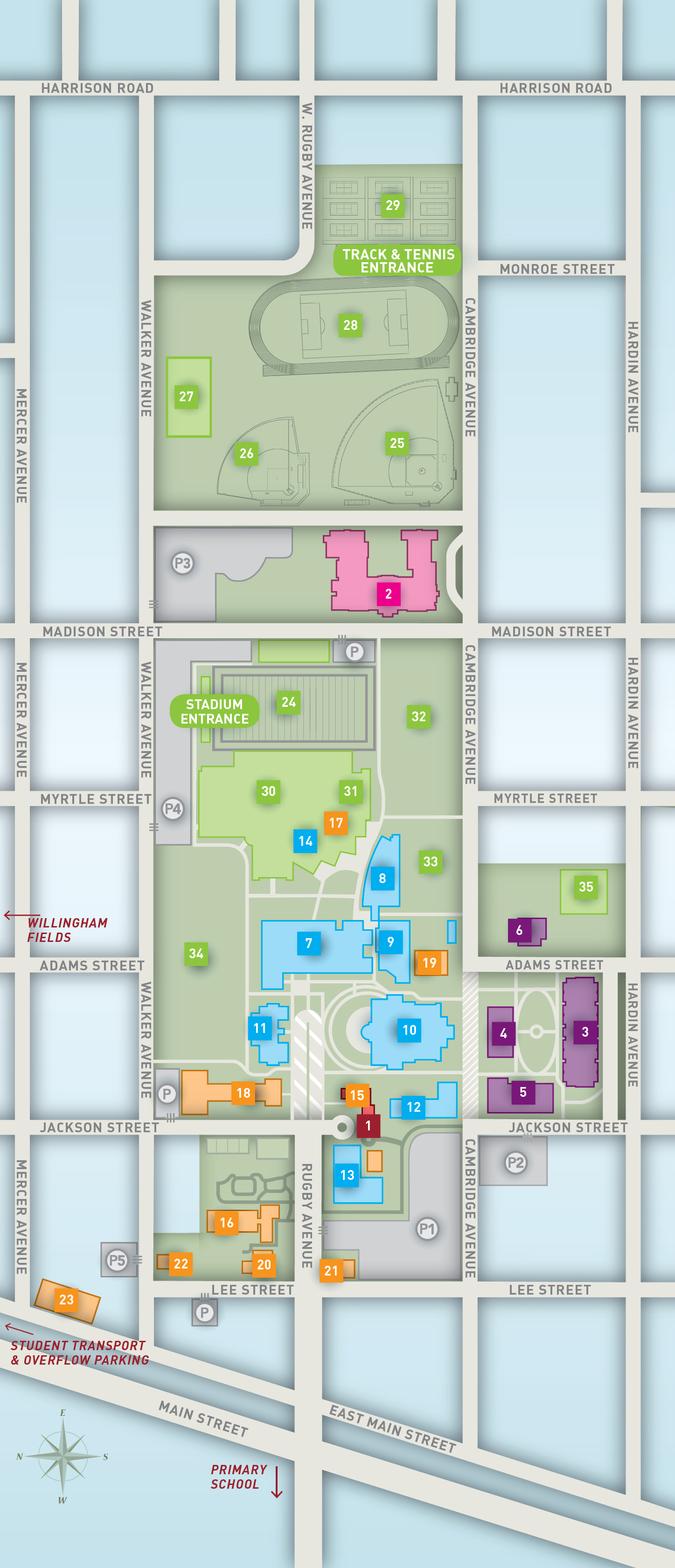 Campus Map Directory
