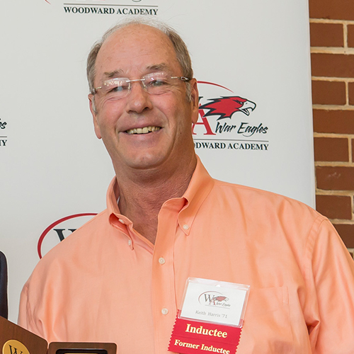 Keith Harris | Woodward Academy Athletic Hall of Fame