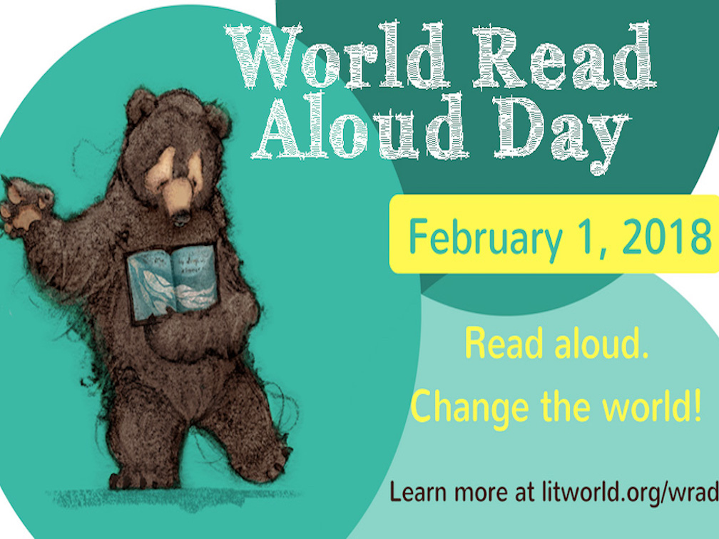 World Read Aloud Day -- Woodward North