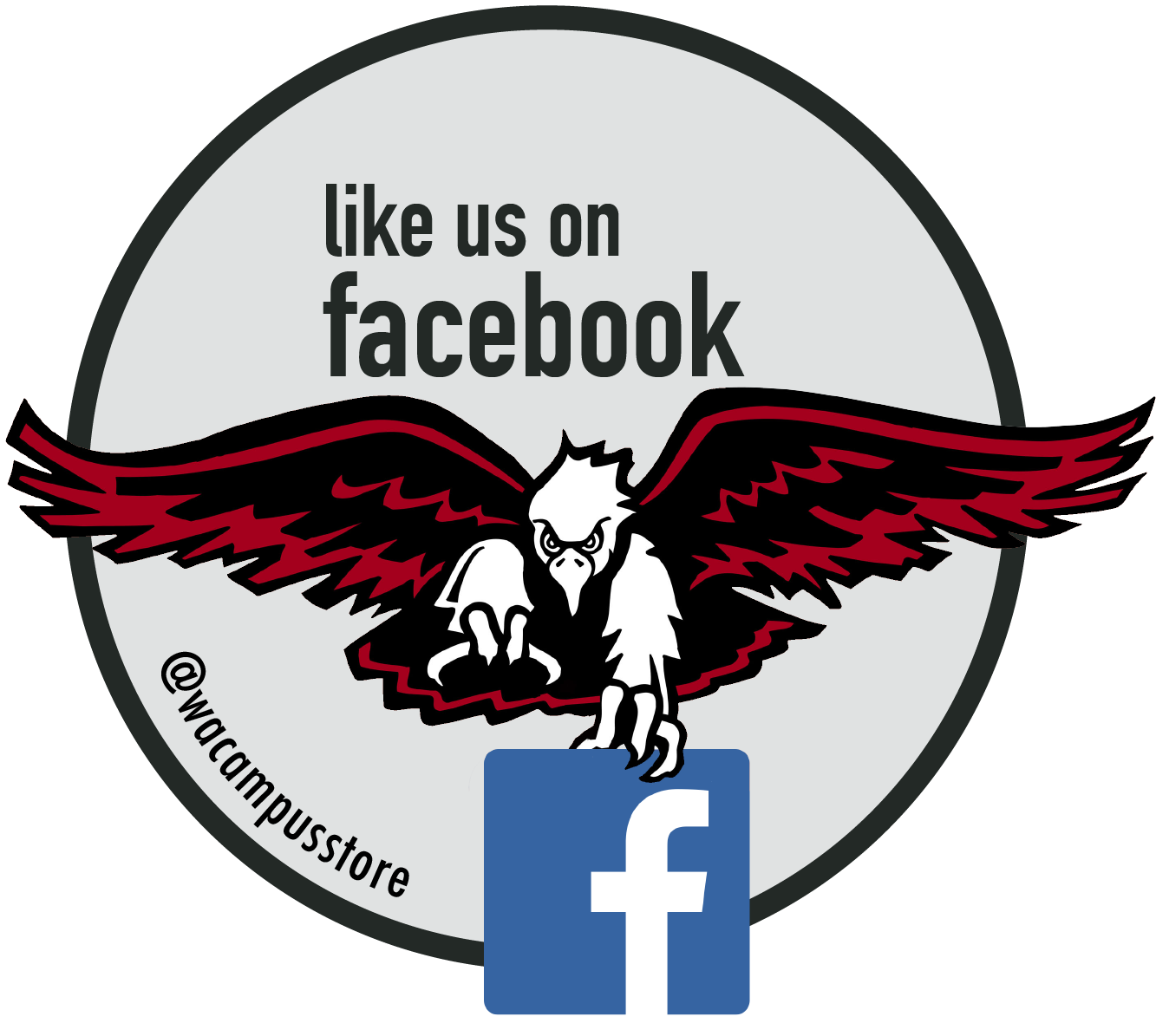 Like the Campus Store on Facebook