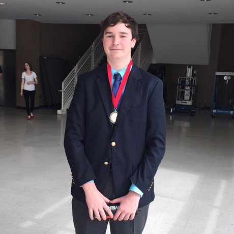 Freshman Wins First in Voice Competition