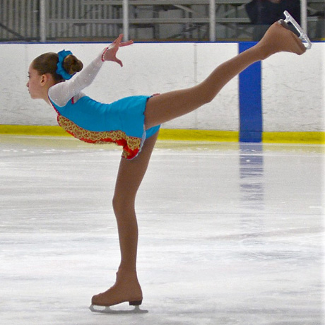 Sixth-Grader Wins First in Ice Skating Competition