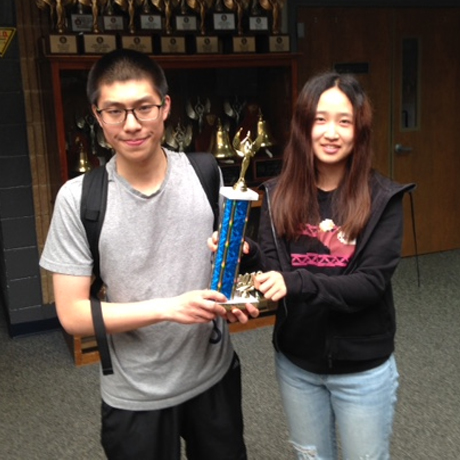 Math Team Earns Top Ranks in JV State Championship
