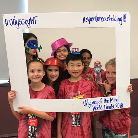 Woodward North Odyssey of the Mind Teams Compete at World Finals