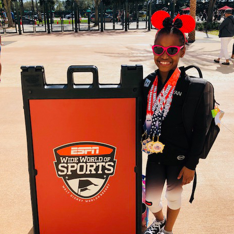 Third-Grader Earns 1st at Disney Gymnastics Meet