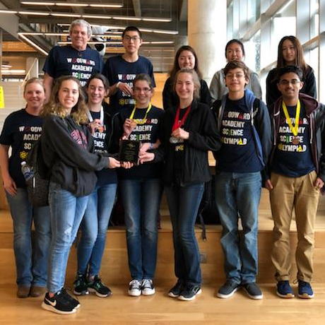 Science Olympiad Team Qualifies for State Competition
