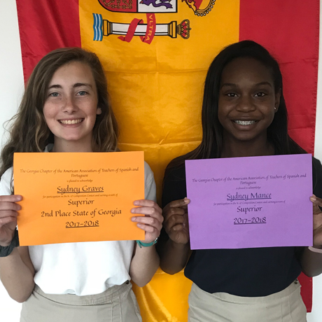 Sophomores Excel in Spanish Essay Competition